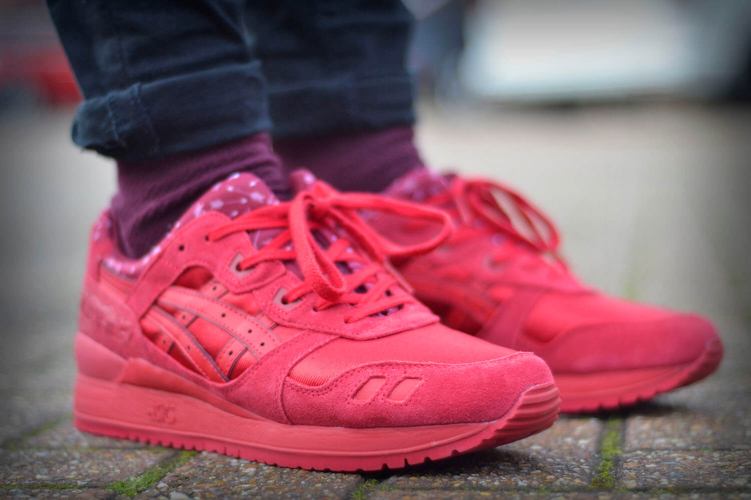 Asics Gel Lyte 4 Red
