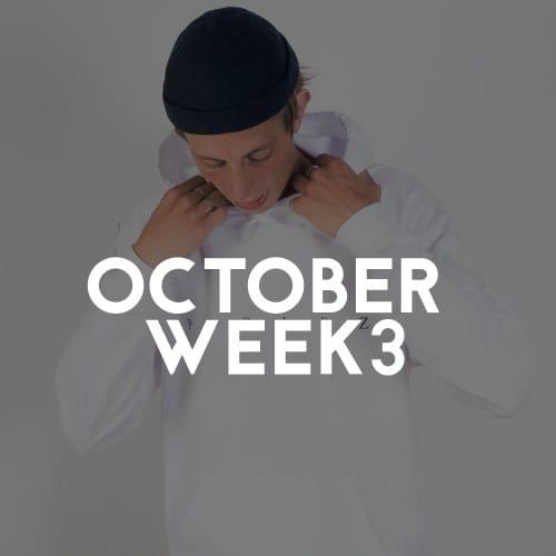 OCOTOBER WEEK 3