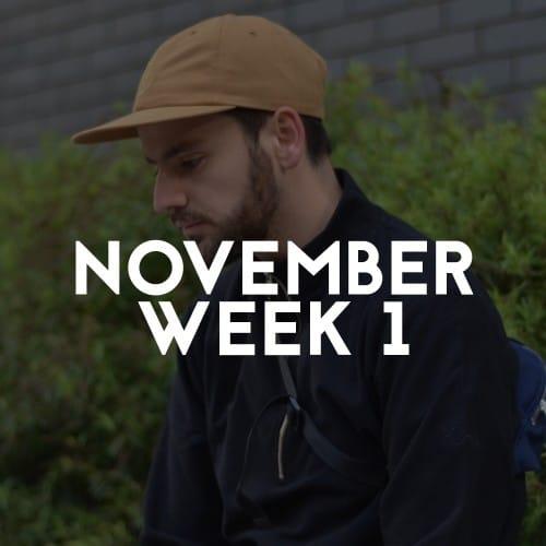 NOVEMEBER WEEK 1