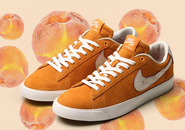 new styles 360b2 2f9df Nike SB Blazer Low Grant Taylor 'Bruised Peach' a nod to the ...