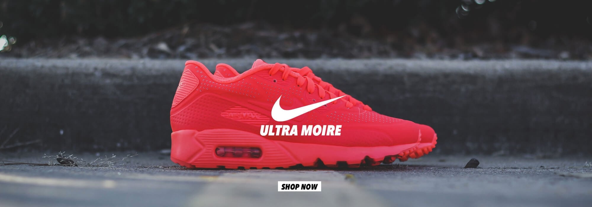 Nike Air Max 90 Ultra Moire - Crimson Red