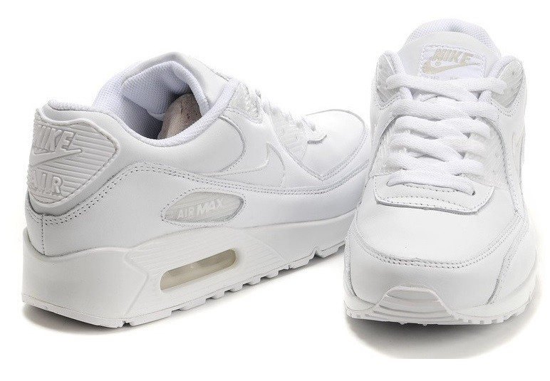 nike air max 90 white black tick