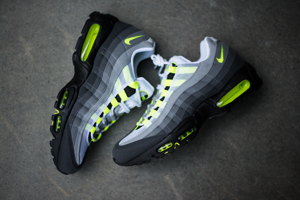 air max 95 lime green for sale