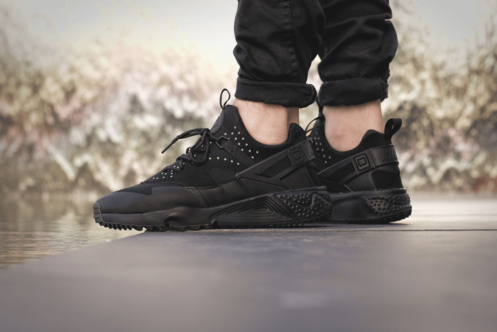 9ec9ff55e1 new zealand nike huarache air utility black 02e11 af5c8