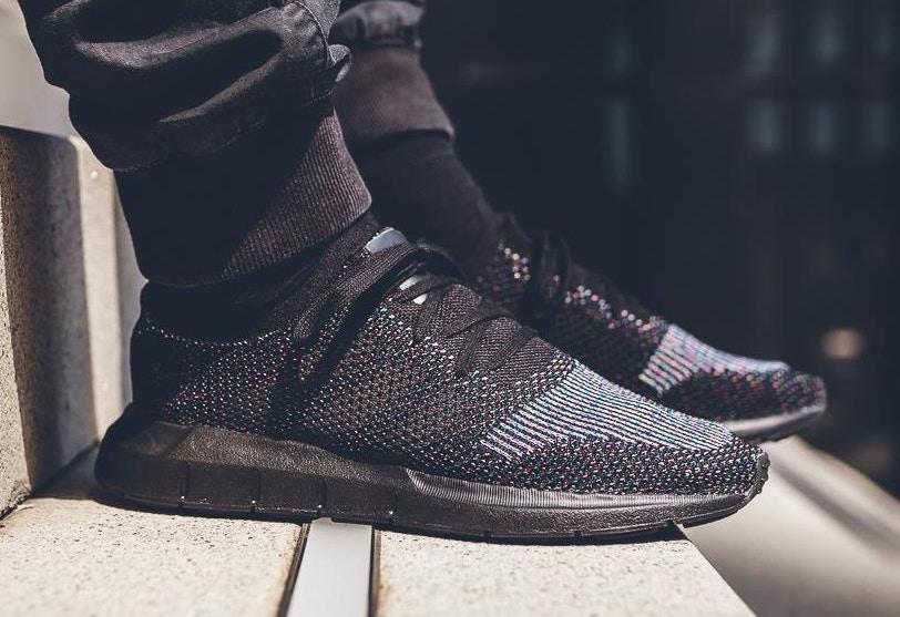 Adidas Swift Run Primeknit - Black