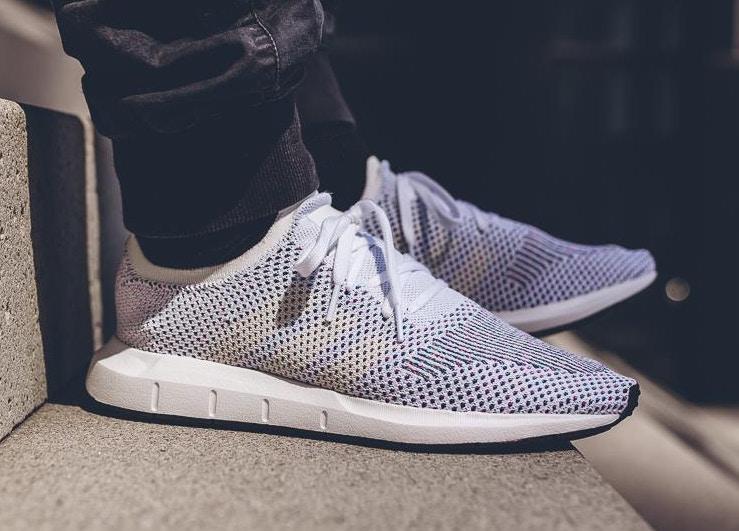 Adidas Swift Run Primeknit - White