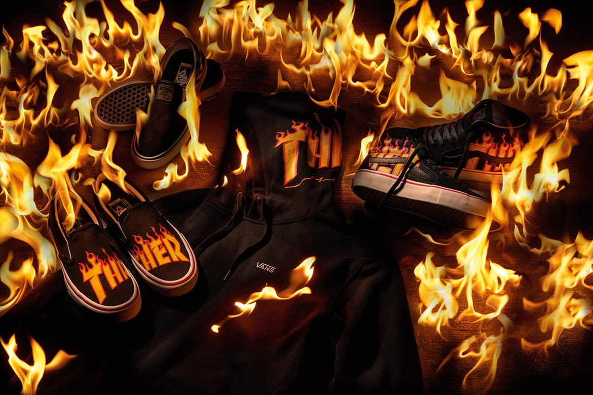 89c5666411 A fire collaboration from Vans x Thrasher