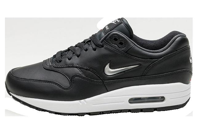 Nike Air Max 1 Jewel Black Silver