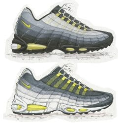 pretty nice 32ac7 3c133 The Air Max 95  It s Birth and Revolution