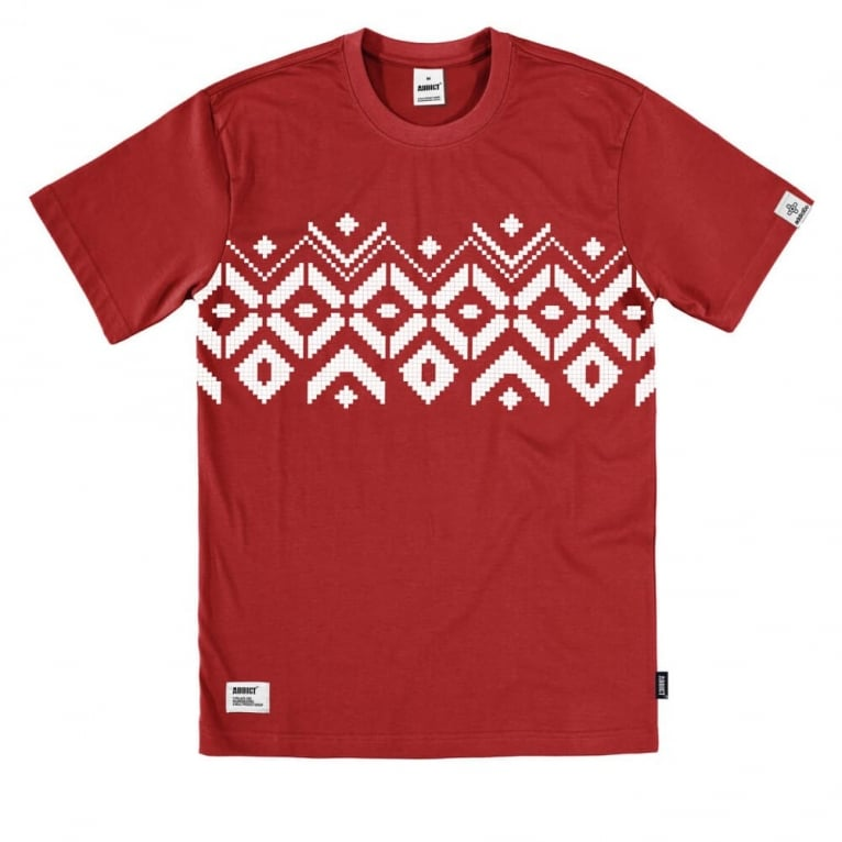 Addict Alpine Tee Red
