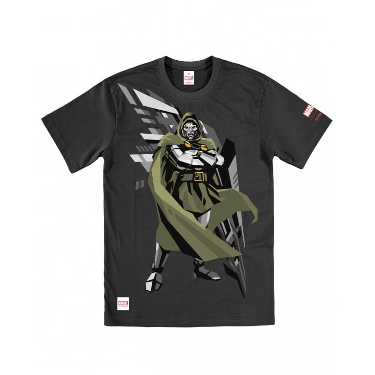 Addict Dr Doom Tee Black