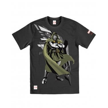 Dr Doom Tee Black