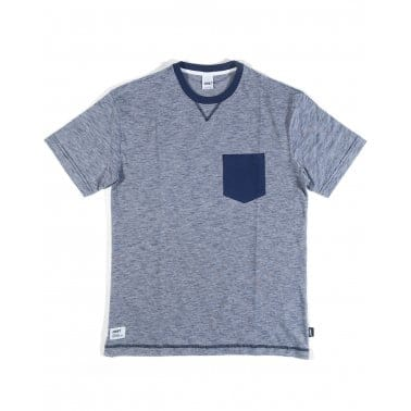 Haze Club Pocket Tee Navy