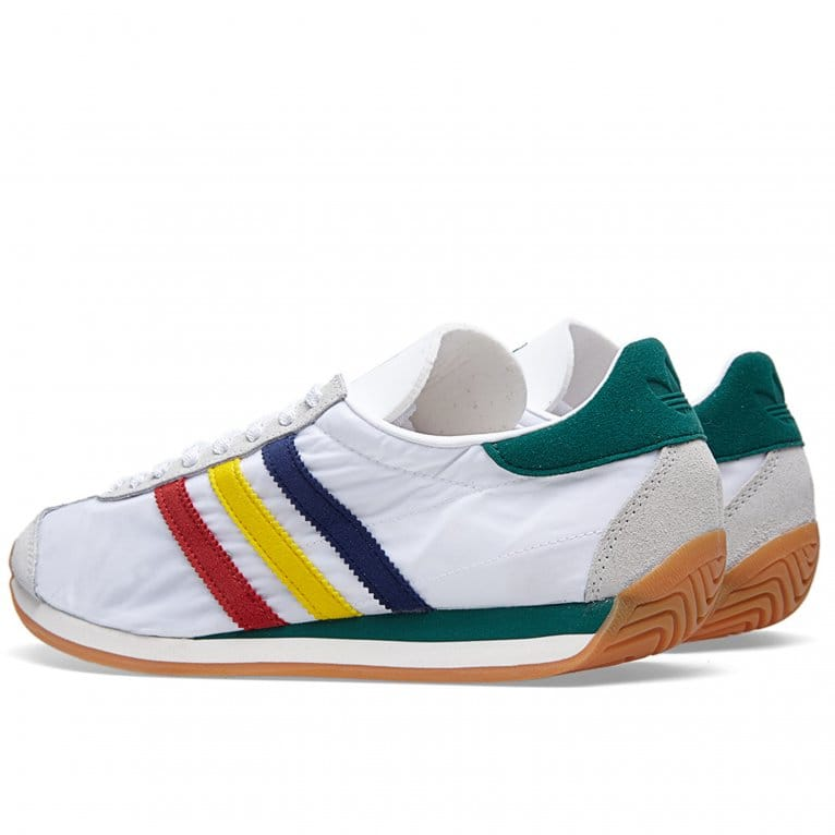 Adidas Originals 84-Lab Mcnairy Country - White/Red/Chalk White