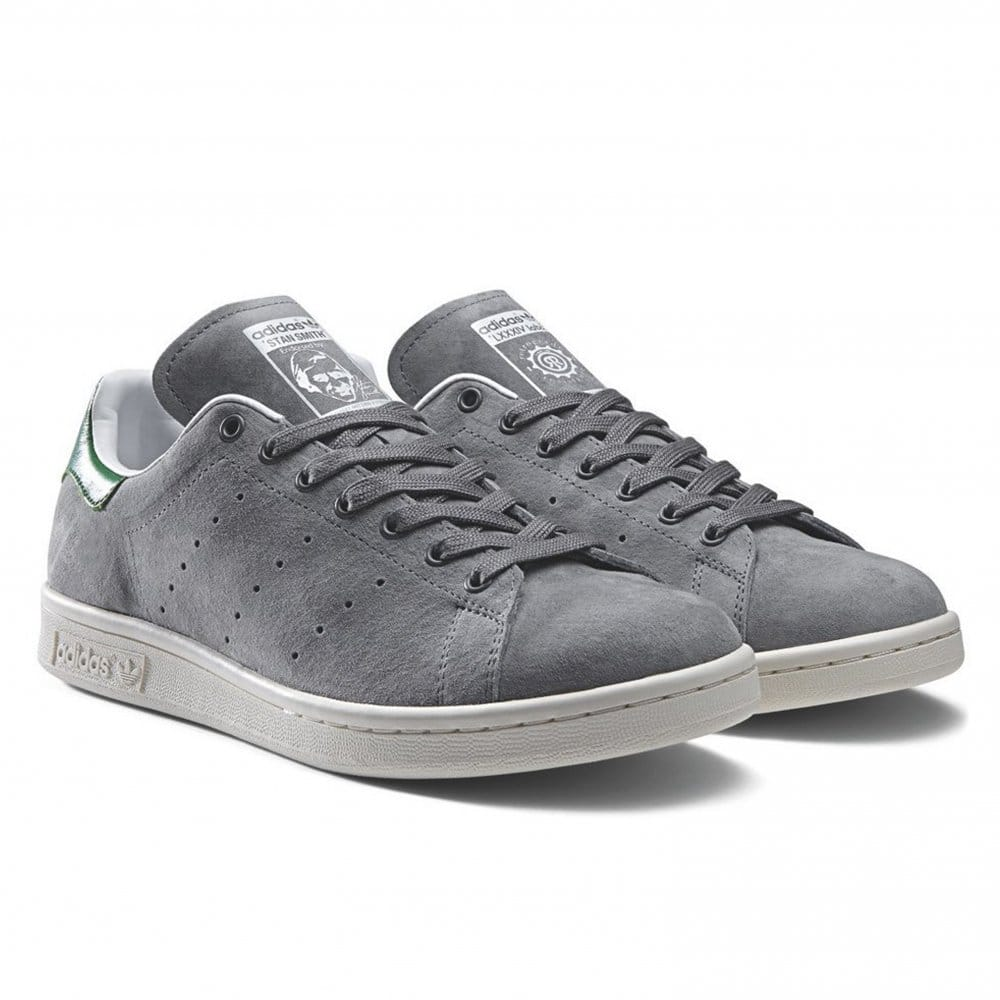 Adidas stan smith grey for Adidas nuove stan smith