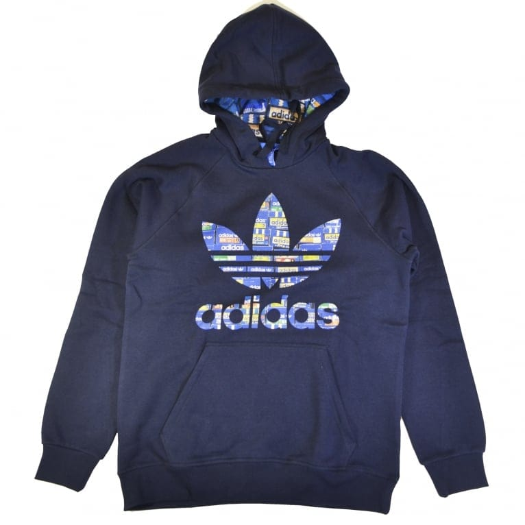 Adidas Originals Adidas Trefoil Hoody - Legend Ink