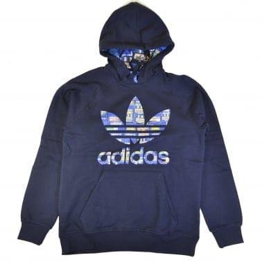 Adidas Trefoil Hoody - Legend Ink