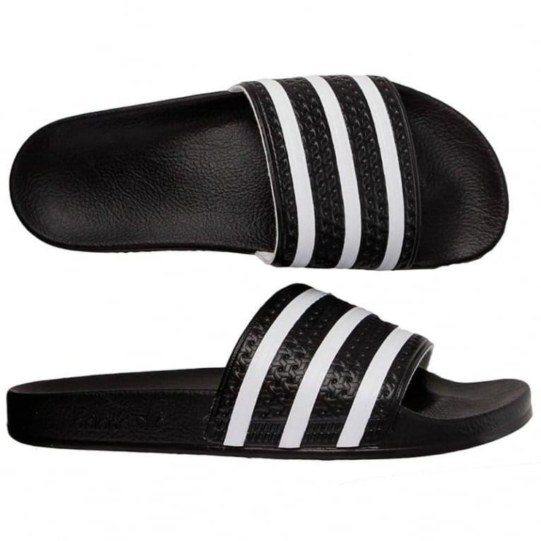 Adidas Originals Adilette - Black/White