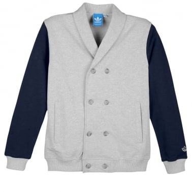 Blazer Track Top - Medium Grey