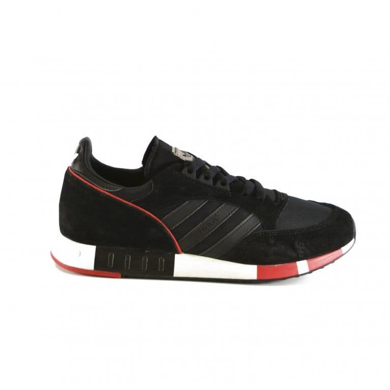 Adidas Originals Boston Super - Black/Black/Red