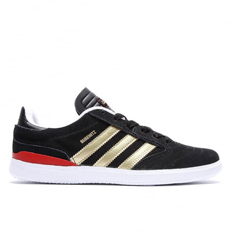 Adidas Originals Busenitz Juniors - Core Black/Gold