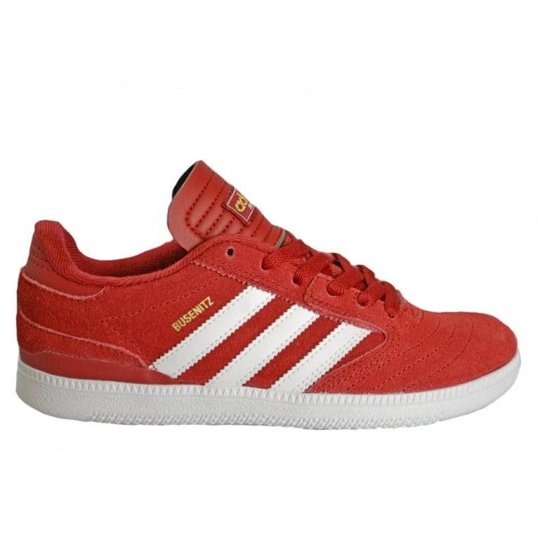 Adidas Originals Busenitz Juniors - Power Red/White