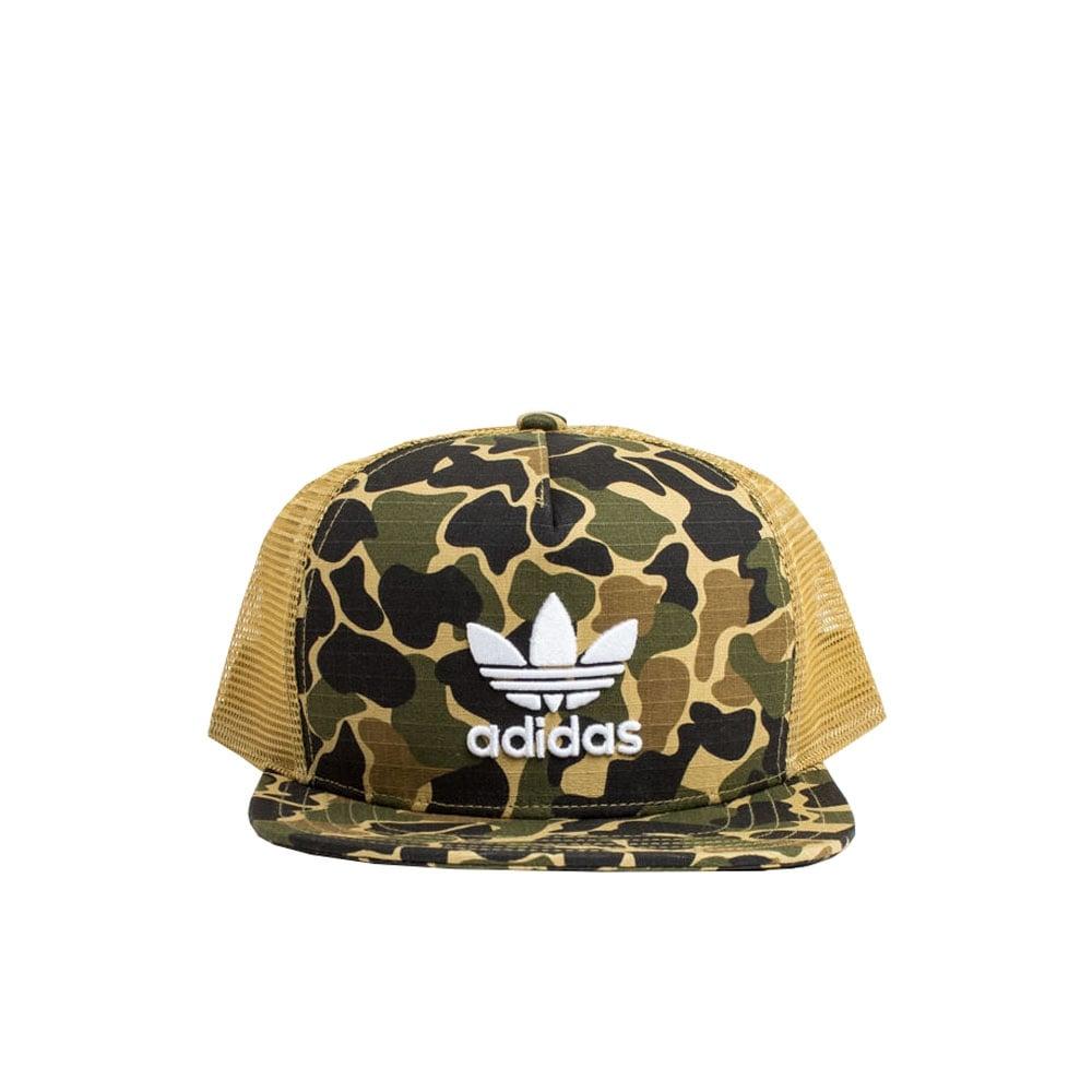 Adidas Originals Camo Trucker Cap  e7e9a6ddbcd