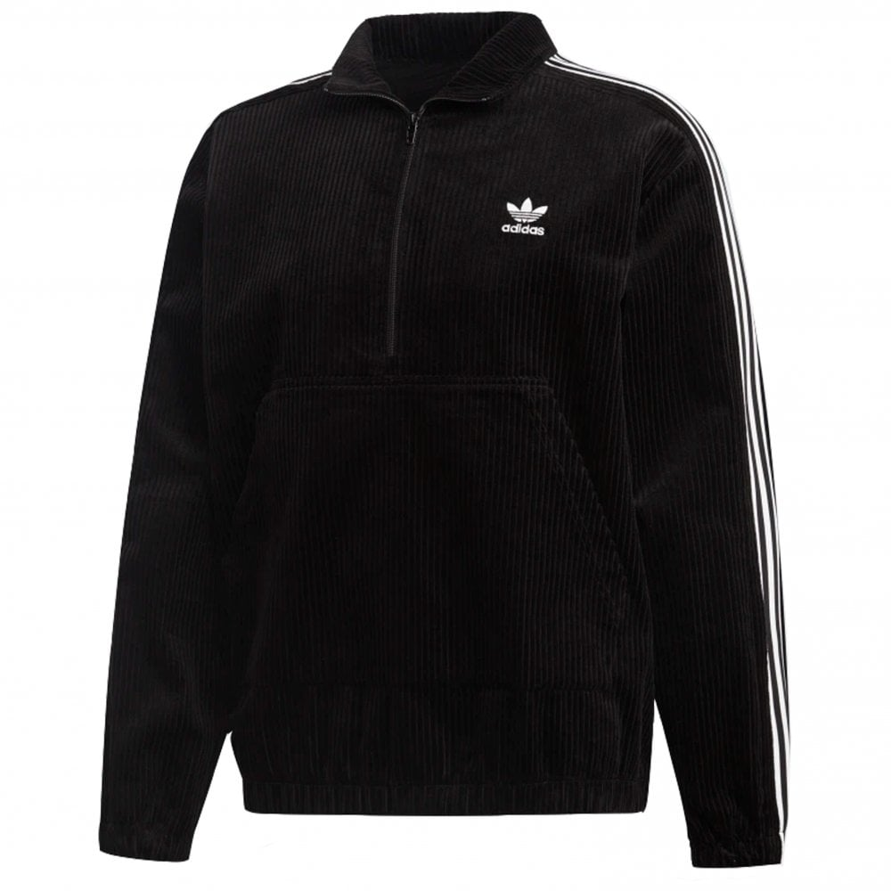 dinamico perdonato Vivace  adidas originals Corduroy Half-Zip Jacket | Clothing | Natterjacks