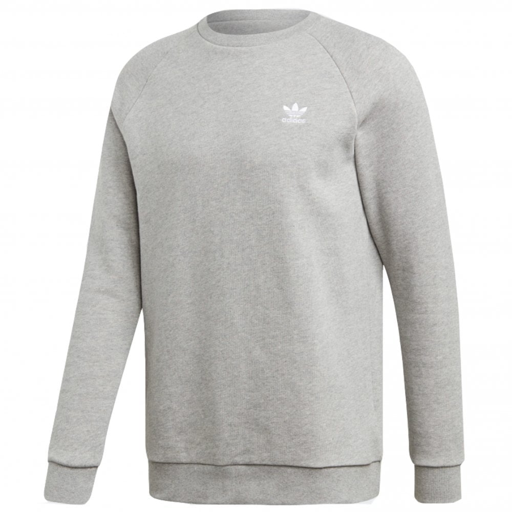 adidas Originals Essential Crewneck Sweatshirt | Medium Grey