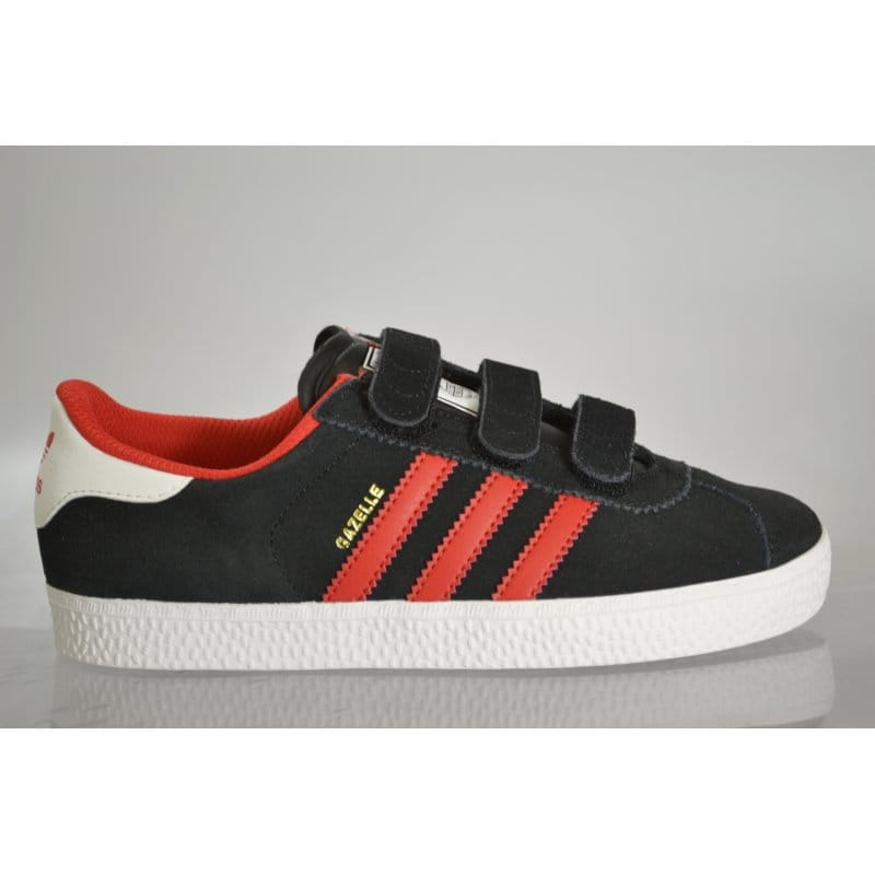 no sale tax new high quality low cost adidas originals Gazelle 2 Childrens Black/Red