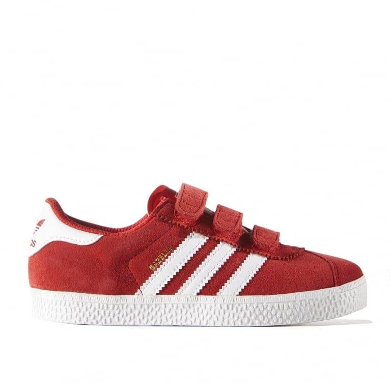 Adidas Originals Gazelle 2 Childrens - Lush Red