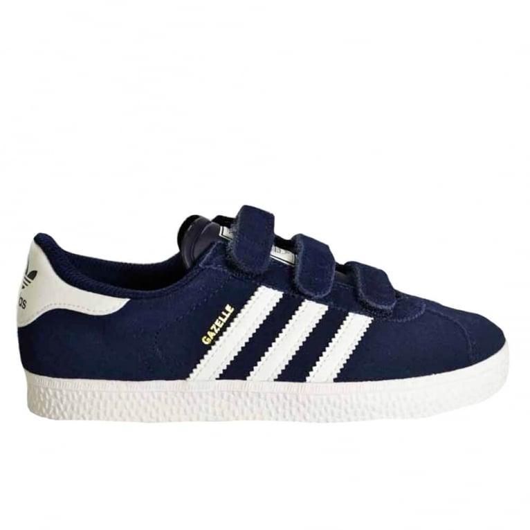 Adidas Originals Gazelle 2 Childrens Navy/White