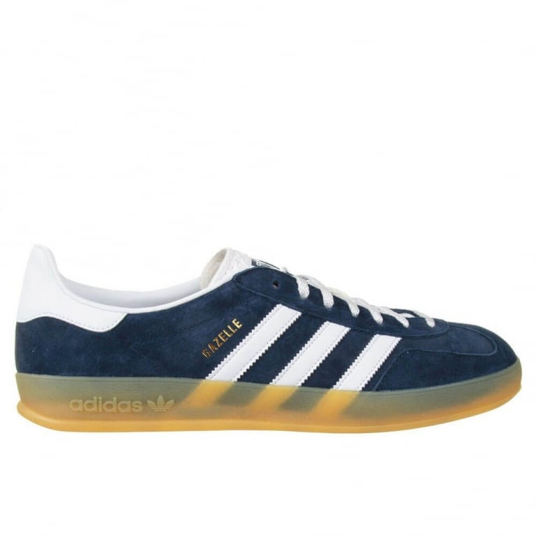 Adidas Originals Gazelle Indoor - Collegiate Navy/White