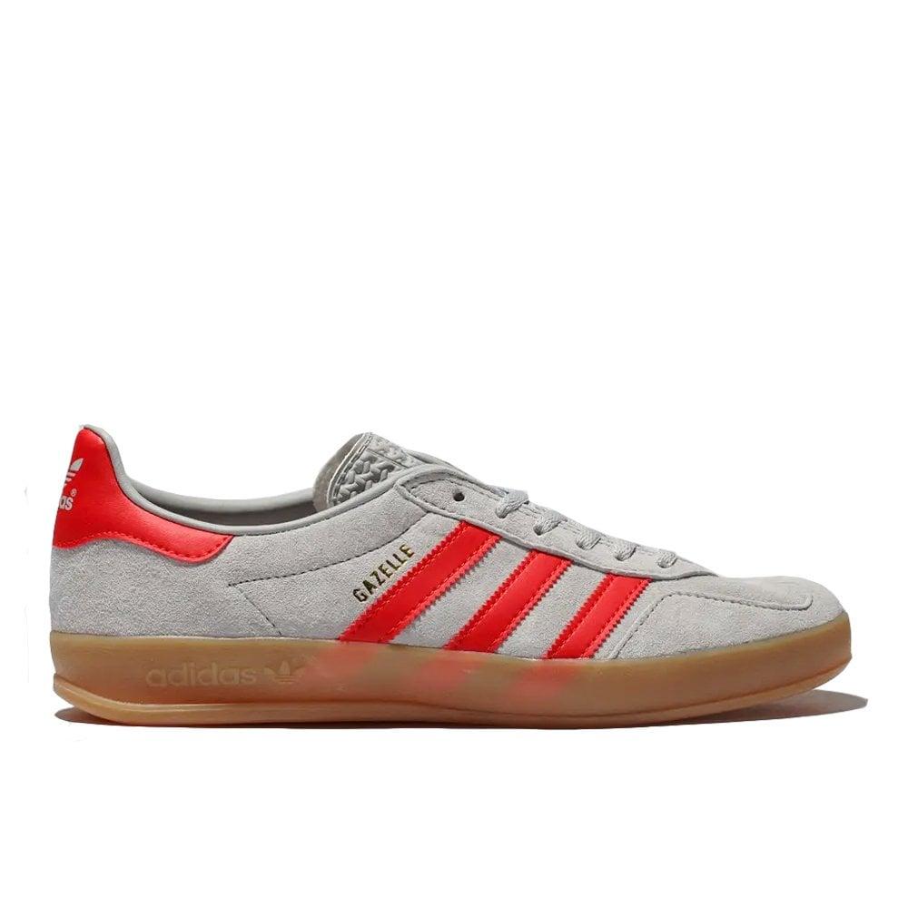 super populaire 8a868 434cd Gazelle Indoor - Grey/Red