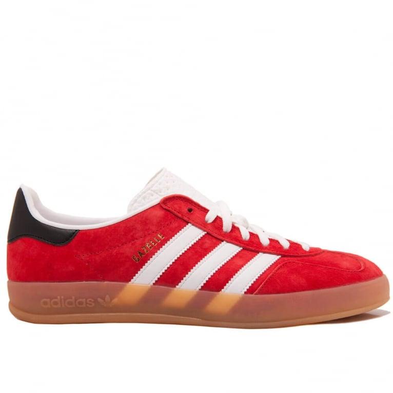 Adidas Originals Gazelle Indoor - Red/White/Black