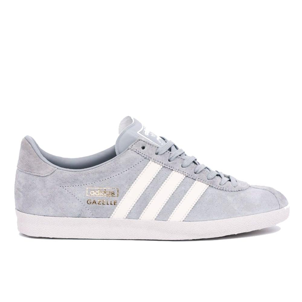 grey adidas gazelle