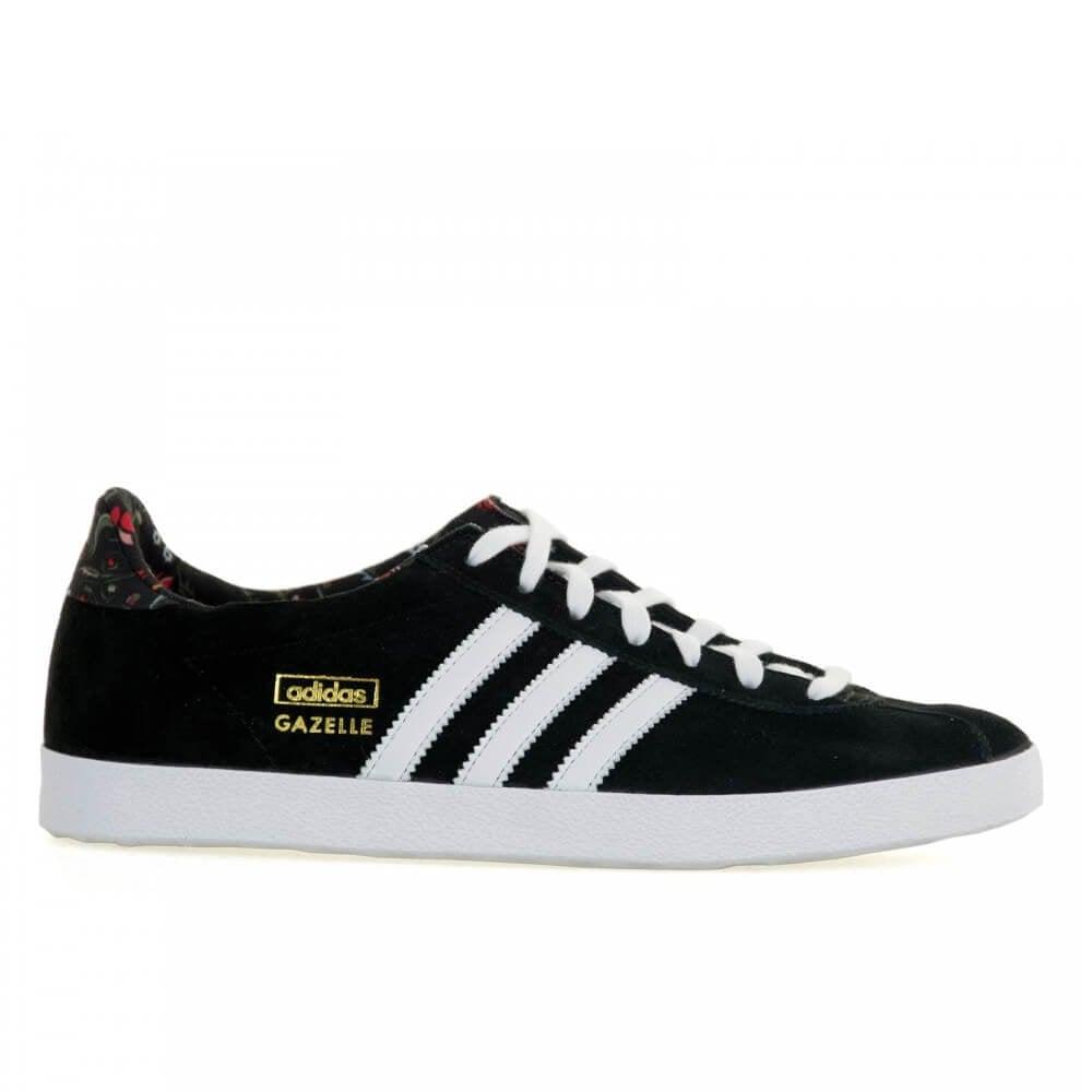9fcac34e218 Adidas Originals Gazelle OG Womens Core Black