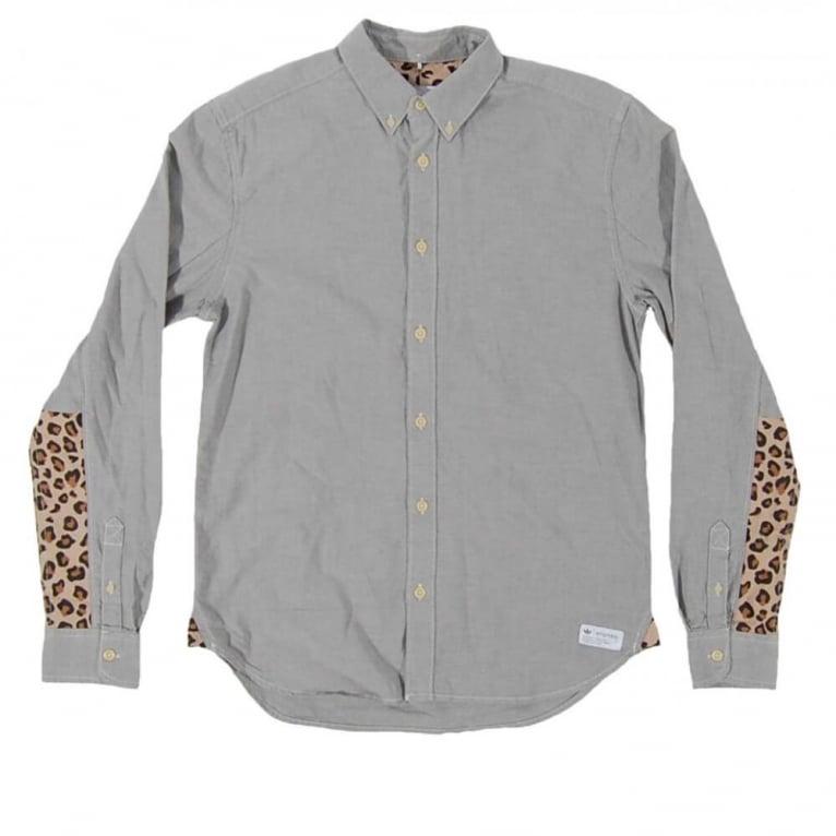 Adidas Originals Graphic Shirt - Lead/White