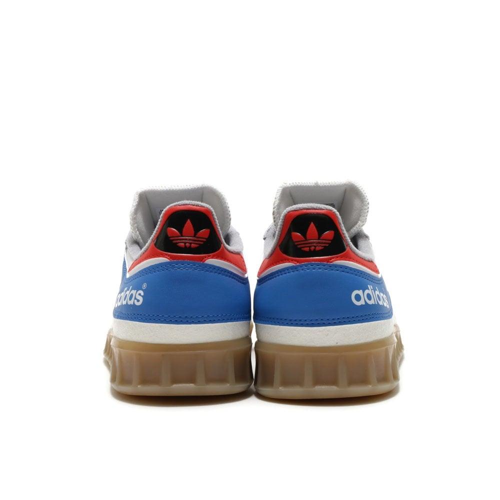adidas originals by9535 handball top schuhe sneaker vintage white