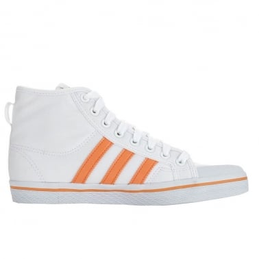 Honey Stripe Womens Run White
