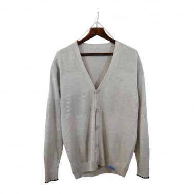 Knit Cardigan Grey