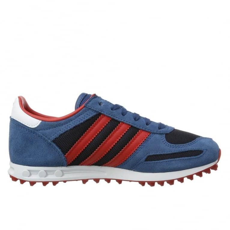 Adidas Originals La Trainers Kids Legend Ink/Red