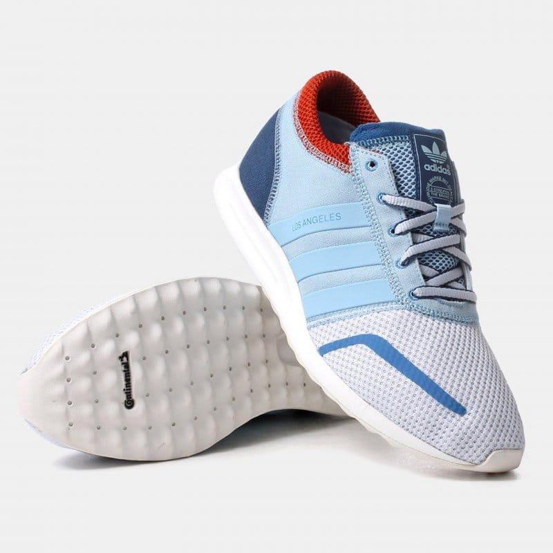 chaussures de sport c0b5f d4332 adidas originals Los Angeles- Clear/Sky