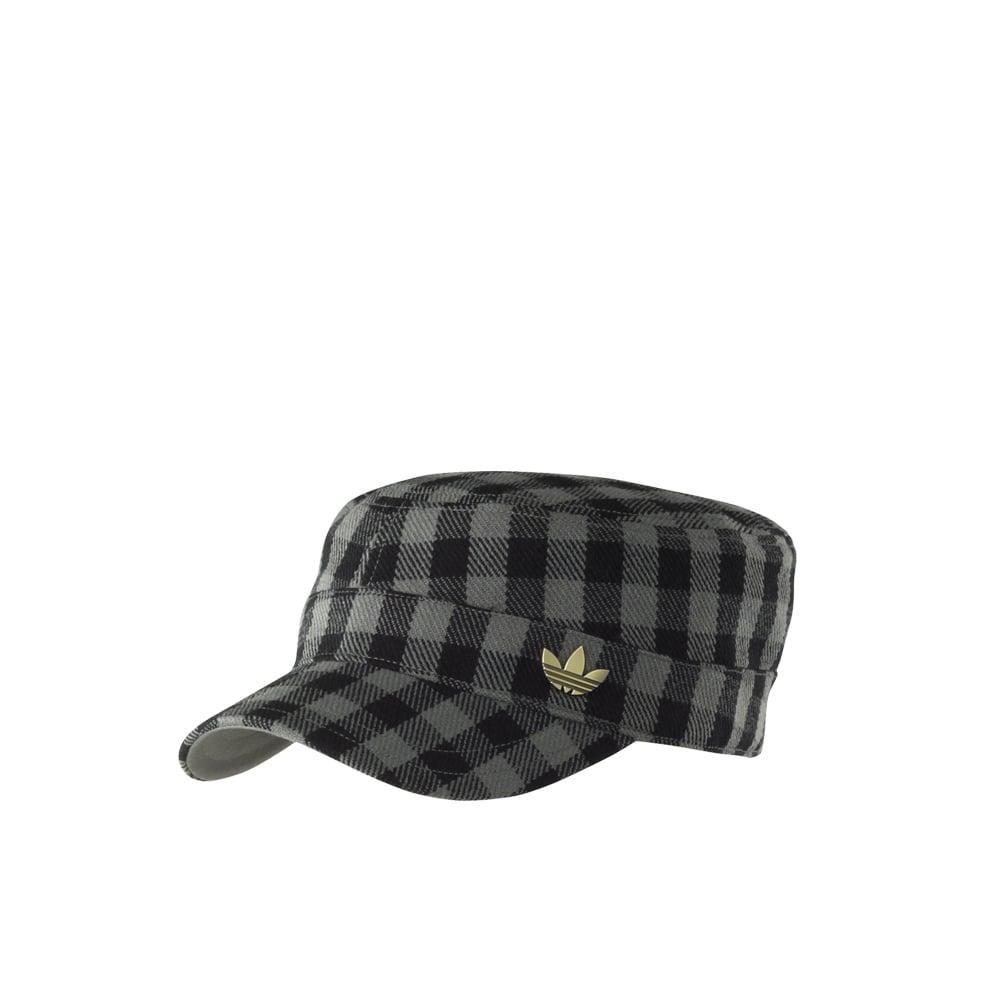 adidas originals Military Cap - Black Grey 3dbb0bdb015