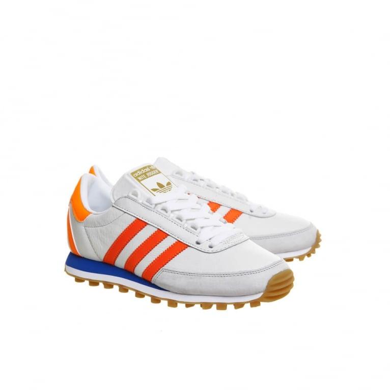 Adidas Originals Nite Jogger - White/Solar Orange
