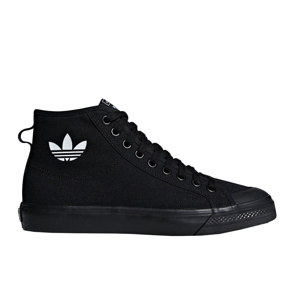 adidas originals Nizza Hi Core BlackCore Black