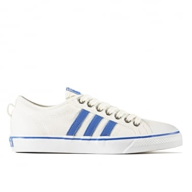 Nizza Low - White/Blue