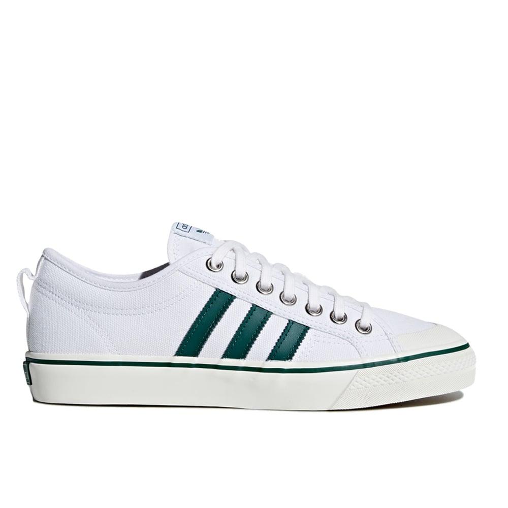 wholesale dealer ac9c2 e7c2d adidas originals Nizza - White Green