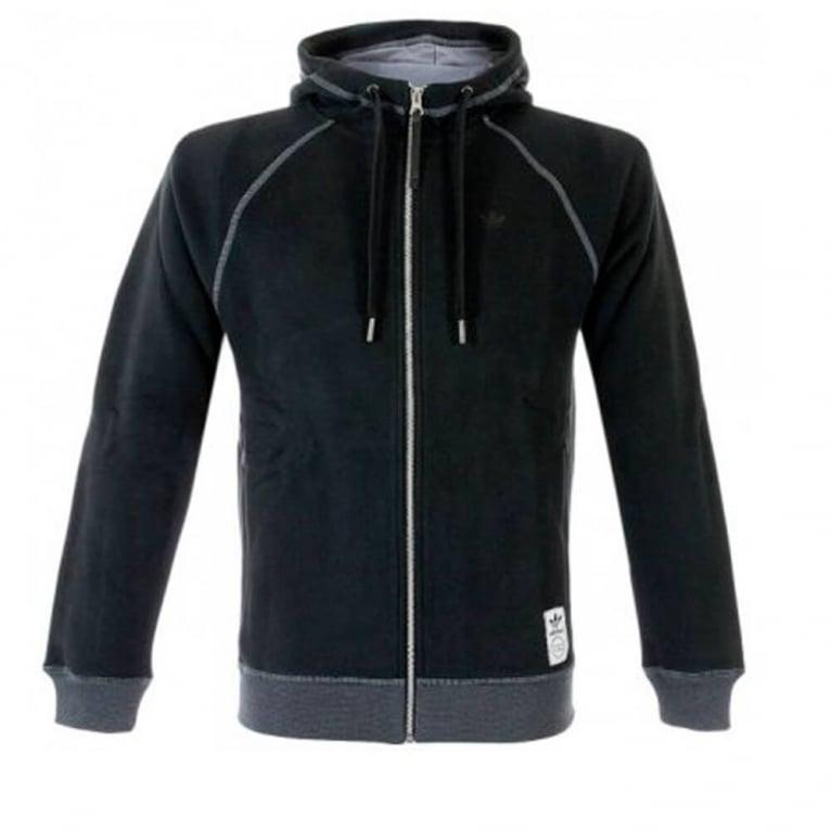 Adidas Originals PE Zip Hoodie - Black