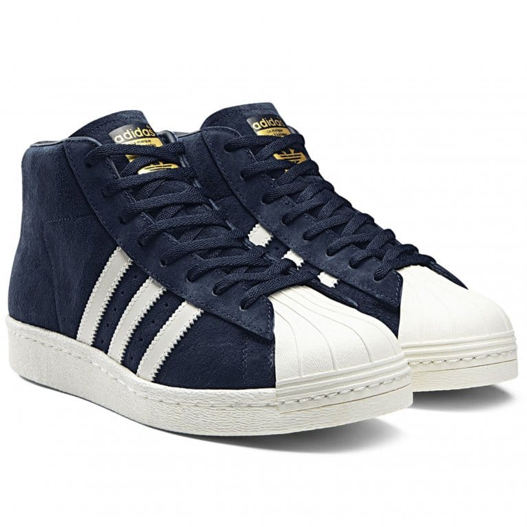 Adidas Originals Pro Model Vintage - Navy/White